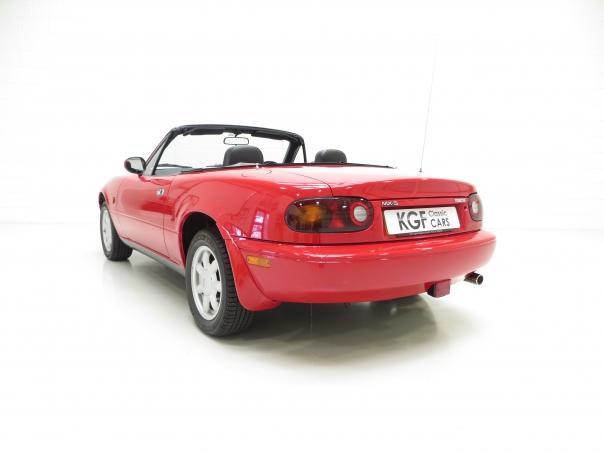 Classic Red Mazda Mx  Paint Code