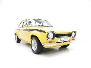 Ford Escort Mk1 AVO Mexico Recreation
