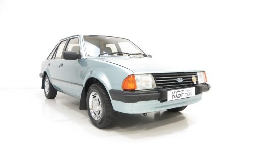 Ford Escort Mk3 1.3 Ghia