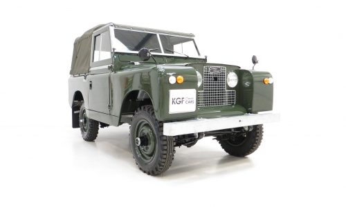Land Rover Series 2a SWB