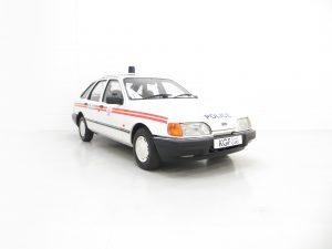 Ford Sierra Police Car Recreation