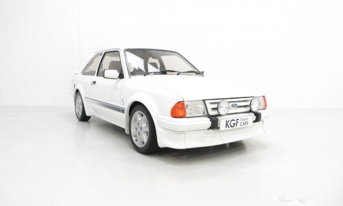 Ford Escort Series 1 RS Turbo