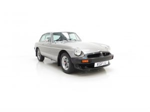 MGB Limited Edition 'The Silver GT LE'